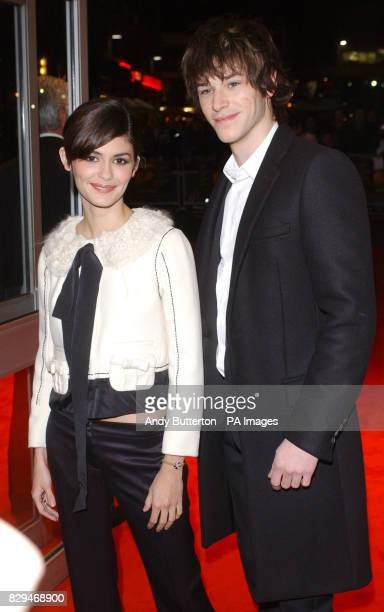 Stars of the film Audrey Tautou and Gaspard Ulliel