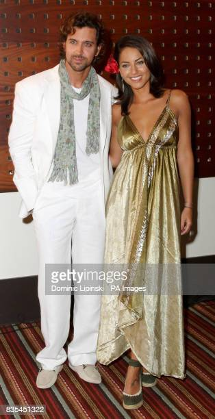 Stars of the film Kites Hrithik Roshan and Barbara Mori attend a photcall at the Majestic Hotel in Cannes France as part of the 62nd annual Cannes...