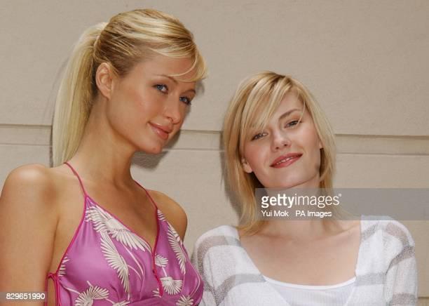 Stars of the film Paris Hilton and Elisha Cuthbert