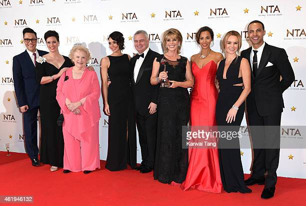 Stars of The Morning Gok Wan Sharon Marshall Denise Robertson Christine Bleakley Eamonn Holmes Ruth Langsford Rochelle Humes Amanda Holden and Marvin...