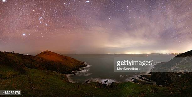 Stars over Rame Head