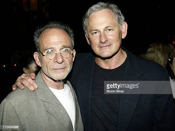 'ALIAS' stars Ron Rifkin and Victor Garber during BDWong Book Release Party for 'Following Foo ' at Ruby Foo's in New York City New York United States