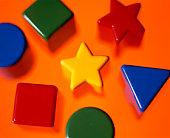 Stars, squares, triangles, circles