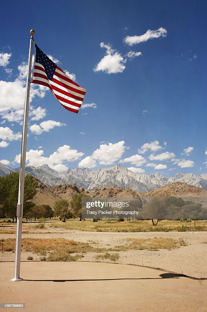 Stars & Stripes and Mount Whitney at Lone Pine