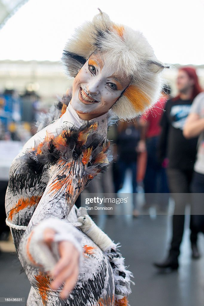 'Starski' poses for the camera at the London Film And Comic Con at Olympia Exhibition Centre on October 6, 2013 in London, England. The event, which runs for two days, sees thousands of sci-fi, comic and gaming fans come together. The event offers the opportunity to meet TV and Film stars, see genuine props, browse merchandise stands and dress up as their favourite cult characters.
