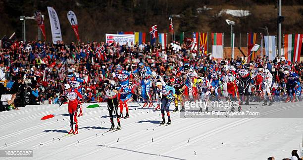 how to start x country ski