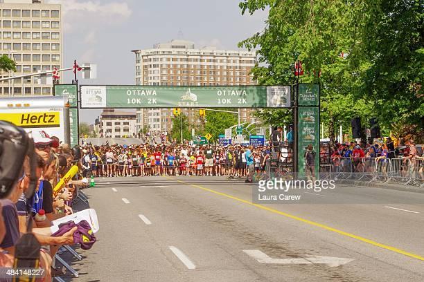 2K start line at Ottawa Race Weekend