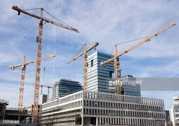 Start des Gebäudes einen neuen highrise