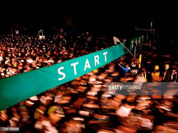 Start des Marathon