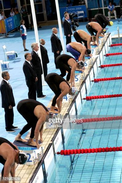 Athens 2004 Olympic Games - Day 5 - Swimming - Men's 100m ...