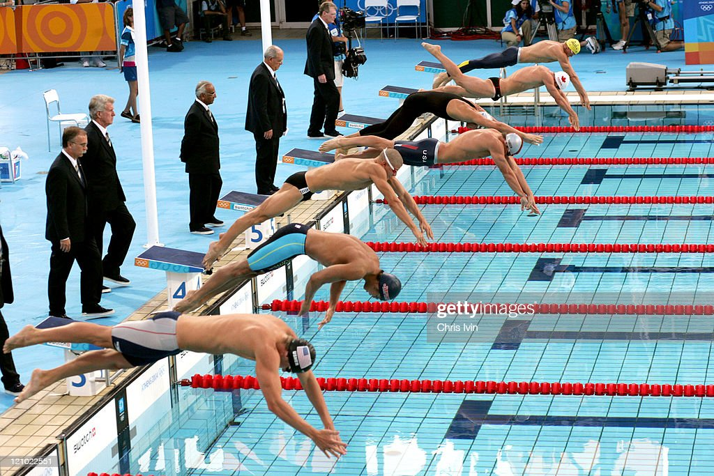 Athens 2004 Olympic Games - Day 5 - Swimming - Men's 200m Breaststroke Final