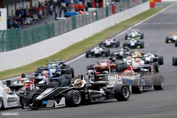 Start of the race 7 Charles Leclerc FIA Formula 3 European Championship round 5 race 1 SpaFrancorchamps 19 21 June 2015