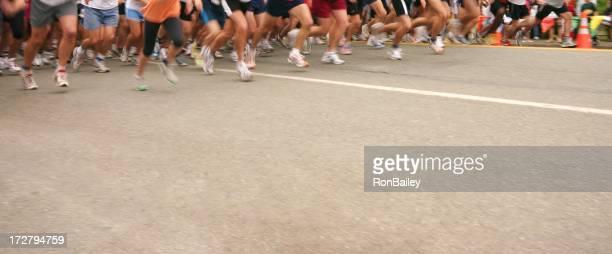 5-Kilometer-Lauf starten