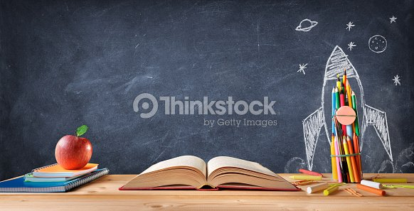 Start School Concept : Foto stock