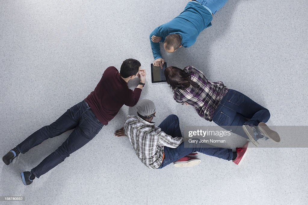 Start up business meeting in new office : Stock Photo