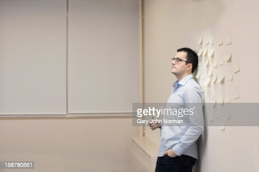 Start up business moment of thought : Stock Photo
