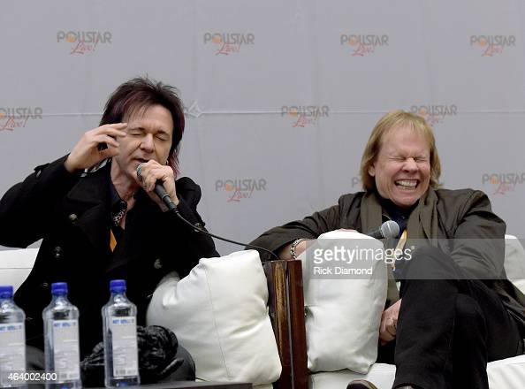 Started in 1999 The Tour That Never EndsSTYX Panelist Lawrence Gowan and James 'JY' Young attend Day 2 of Pollstar Live at Omni Hotel on February 20...