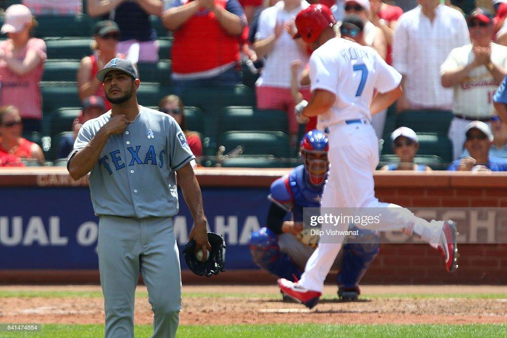 Texas Rangers v St Louis Cardinals