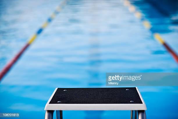 Starting Block Swimming Pool