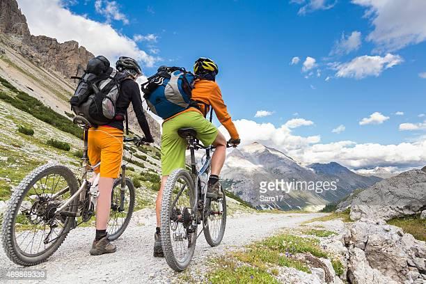 Starting Livigno Downhill, Italy