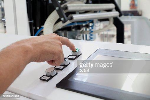 starting machine : Stock Photo
