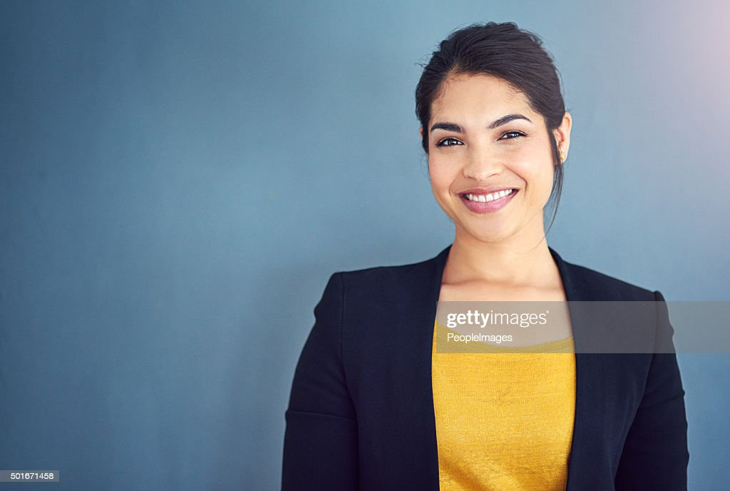 Starting out her career in business : Stock Photo