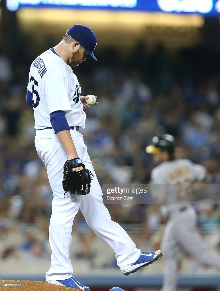 Oakland Athletics v Los Angeles Dodgers