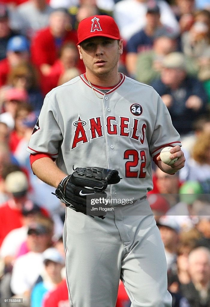 Los Angeles Angels of Anaheim v Boston Red Sox, Game 3