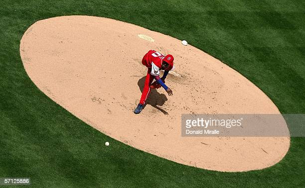 Starting pitcher Yadel Marti of Team Cuba pitches against Team Domincan Republic during the Semi Final game of the World Baseball Classic on March 18...
