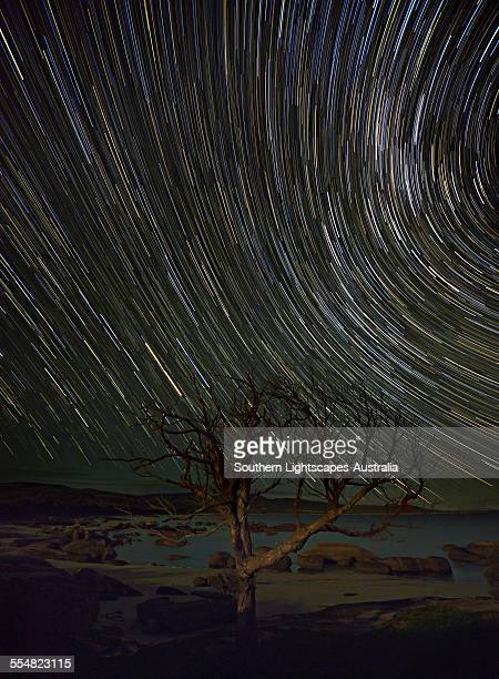 Star-trails at Sawyers bay