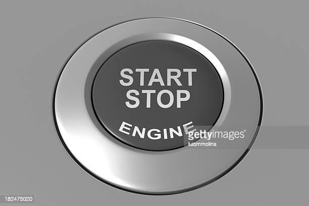 Arrêt Bouton de démarrage moteur