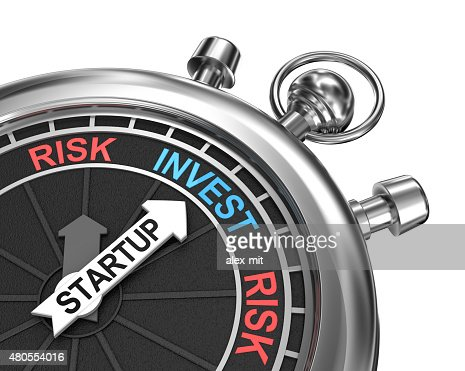 Startup risk invest concept : Stock Photo