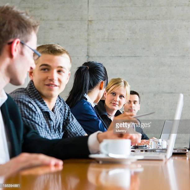 Inbetriebnahme Team-Meetings