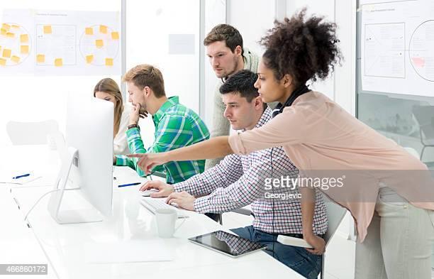Start-up équipe