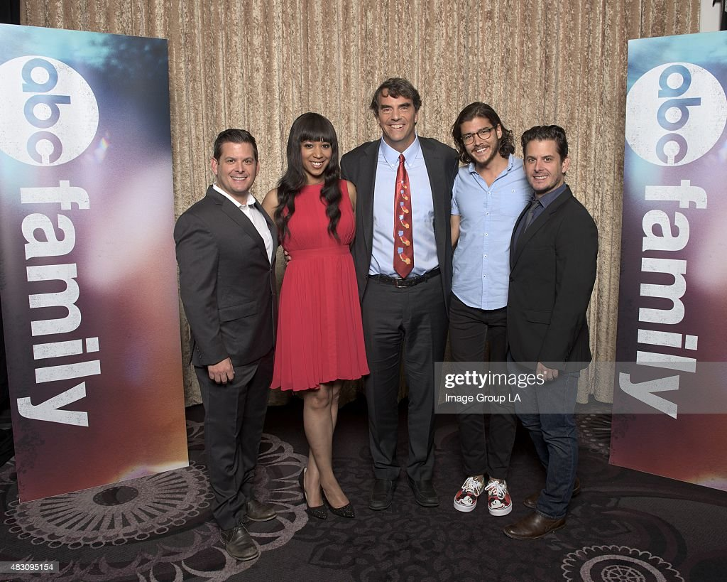 TOUR 2015 - 'Startup U' Session - The cast and producers of ABC Family's 'Startup U' at Disney | ABC Television Group's Summer Press Tour 2015 at The Beverly Hilton in Beverly Hills, California.