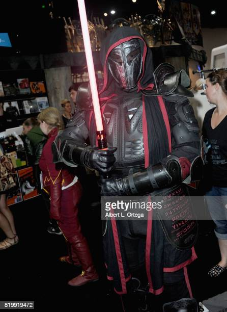 Starwars cosplayer during 2017 ComicCon International at San Diego Convention Center on July 20 2017 in San Diego California