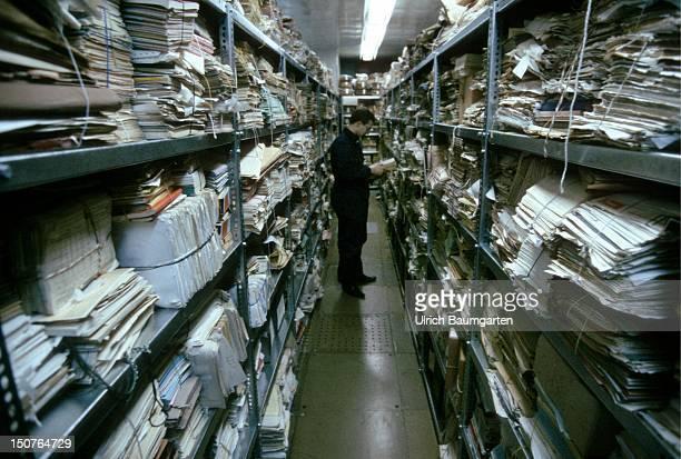 Stasi archives in Berlin