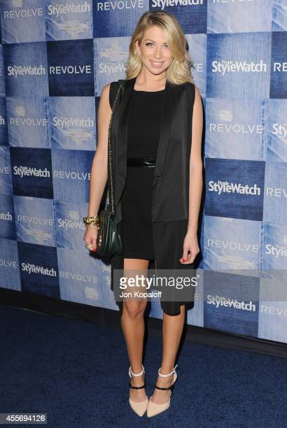 Stassi Schroeder arrives at the People StyleWatch 4th Annual Denim Awards Issue at The Line on September 18 2014 in Los Angeles California