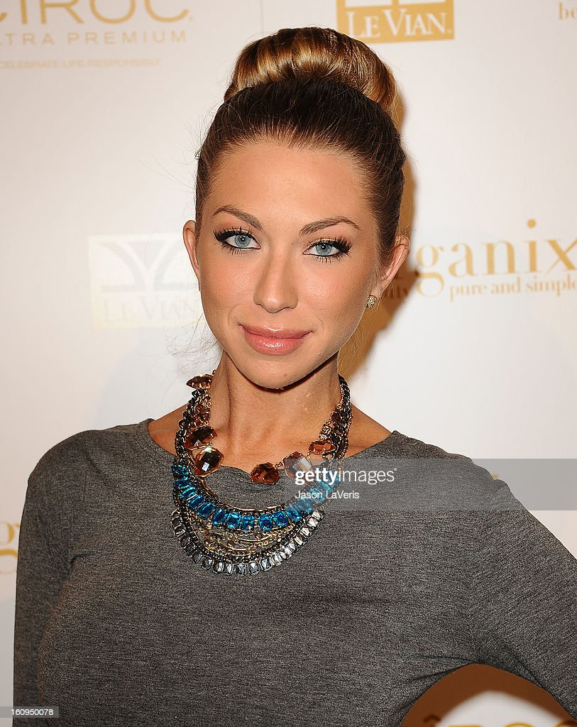 Stassi Schroeder attends OK Magazine's preGrammy event at Sound on February 7 2013 in Hollywood California