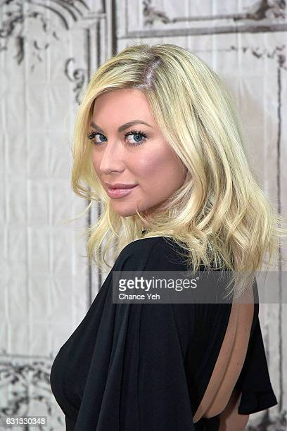 Stassi Schroeder attends the Build Series to discuss 'Straight Up with Stassi' at AOL HQ on January 9 2017 in New York City