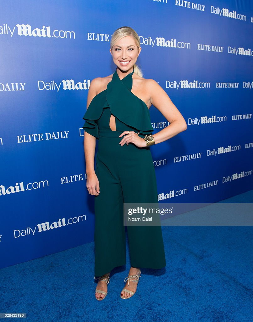Stassi Schroeder attends the DailyMail.com and Elite Daily holiday party at Vandal on December 7, 2016 in New York City.
