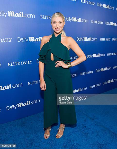 Stassi Schroeder attends the DailyMailcom and Elite Daily holiday party at Vandal on December 7 2016 in New York City
