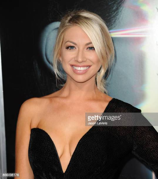 Stassi Schroeder attends the premiere of 'Flatliners' at The Theatre at Ace Hotel on September 27 2017 in Los Angeles California