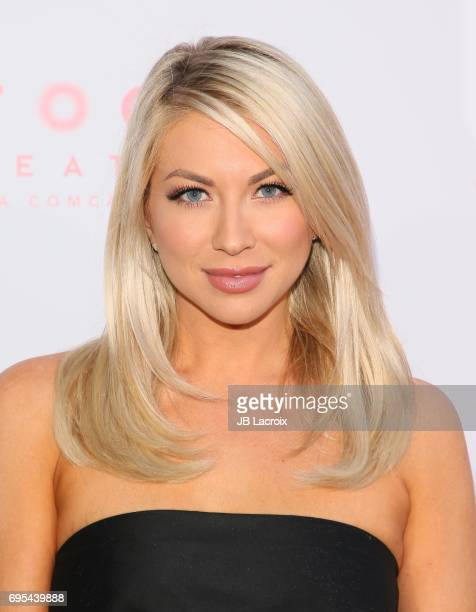 Stassi Schroeder attends the premiere of 'The Beguiled' on June 12 2017 in Los Angeles California