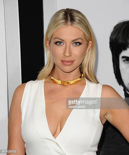 Stassi Schroeder attends the premiere of 'The Brothers Grimsby' at Regency Village Theatre on March 3 2016 in Westwood California