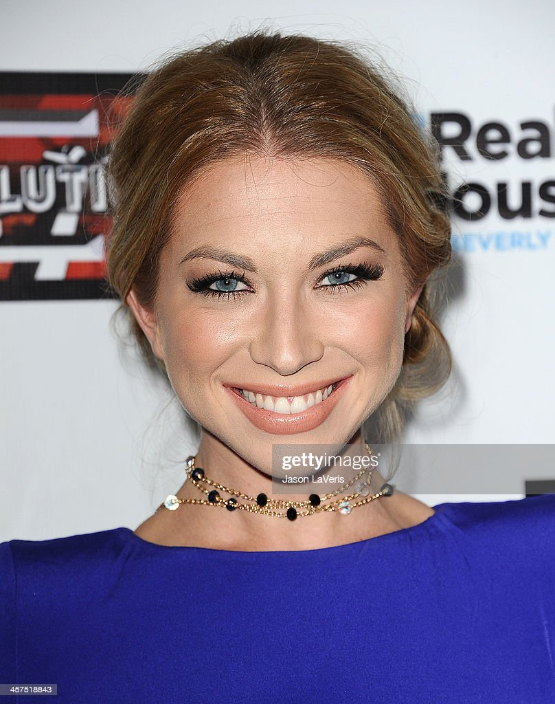 <a gi-track='captionPersonalityLinkClicked' href=/galleries/search?phrase=Stassi+Schroeder&family=editorial&specificpeople=4395032 ng-click='$event.stopPropagation()'>Stassi Schroeder</a> attends the 'The Real Housewives of Beverly Hills' and 'Vanderpump Rules' premiere party at Boulevard3 on October 23, 2013 in Hollywood, California.