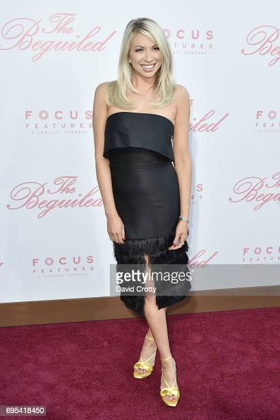 Stassi Schroeder attends the US Premiere Of 'The Beguiled' Arrivals at Directors Guild Of America on June 12 2017 in Los Angeles California