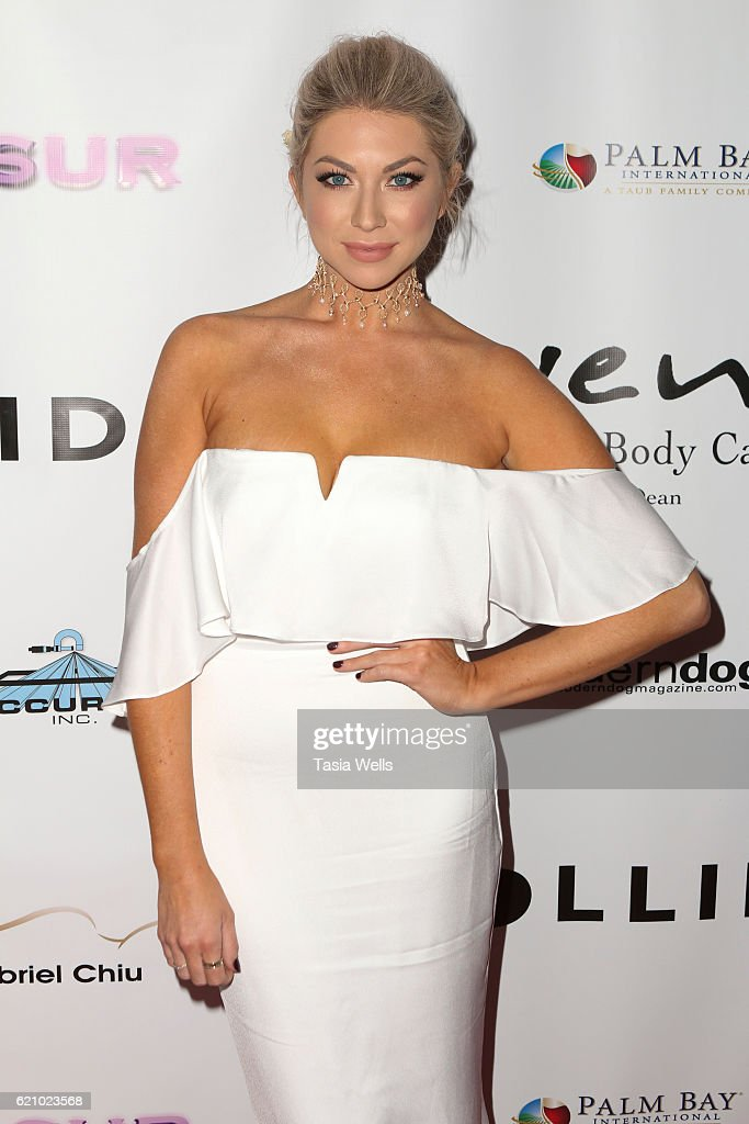 Stassi Schroeder attends Vanderpump Dogs Foundation Gala at Taglyan Cultural Complex on November 3, 2016 in Hollywood, California.