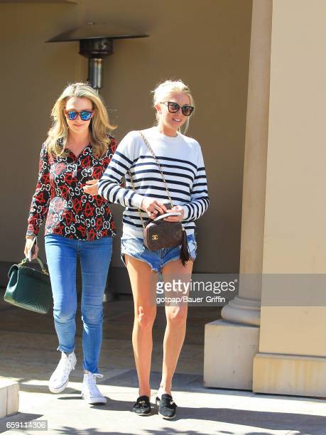 Stassi Schroeder is seen on March 27 2017 in Los Angeles California