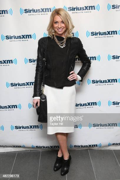 Stassi Schroeder visits the SiriusXM Studios on April 3 2014 in New York City